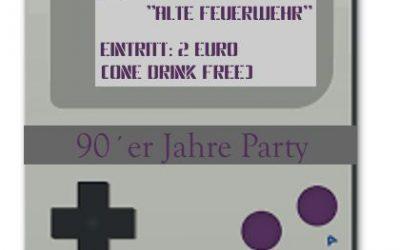 90er Jahre Party