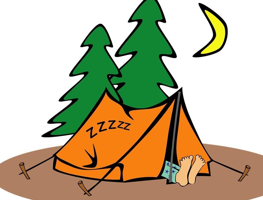 Zeltübernachtung im Jugendhaus