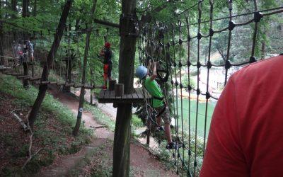 Ausflug in den Waldseilpark