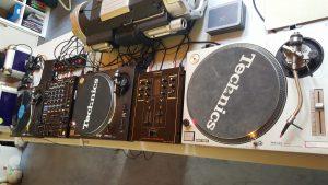 Plattendeck für Vinyl